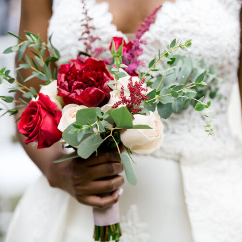 Bridal Vibe - Sexy red