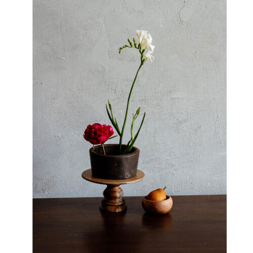 A Peony, a Freesia and a pear..oh my!