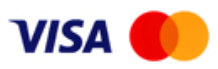 We accept Visa as a payment method