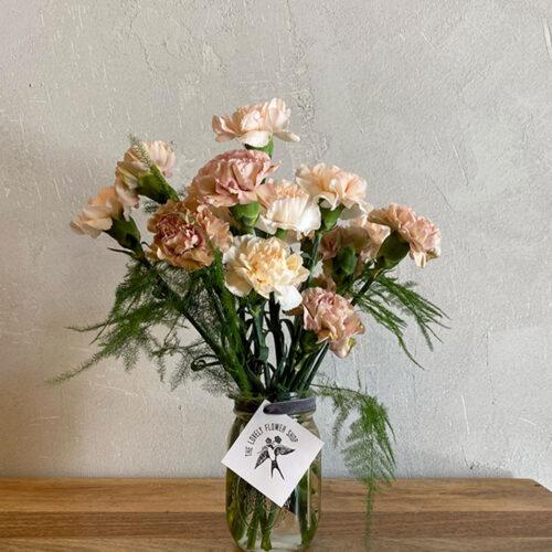 Peach Carnations