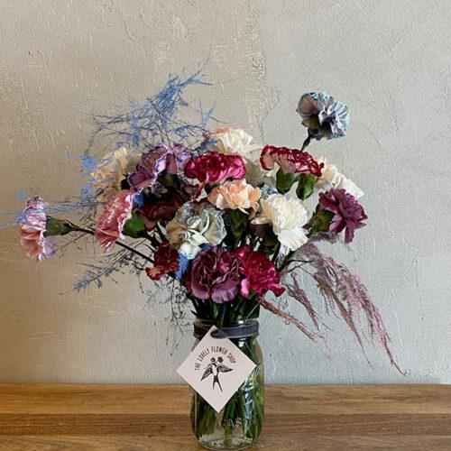 Rainbow mix carnations