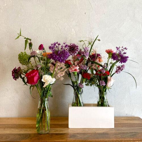 The retro trio - Flower subscription