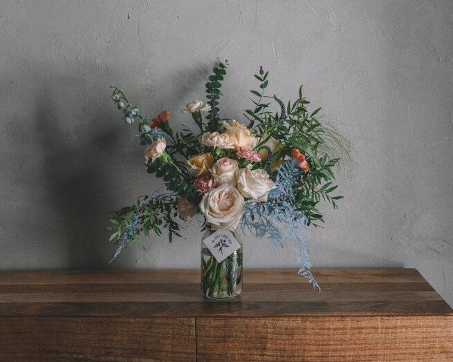Pastel floral bouquet