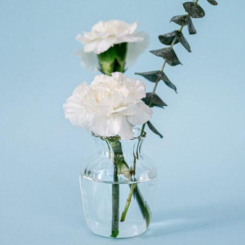 Bud vase style 2 with gold rim
