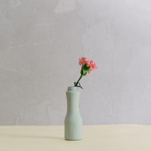 Drinkable yogurt vase - Mint