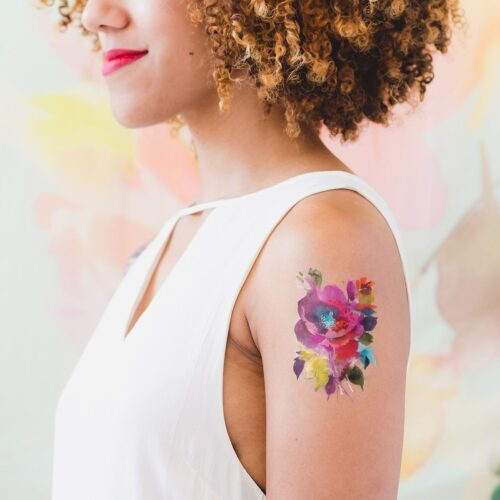 FESTIVAL FLORAL BY HELEN DEALTRY FROM TATTLY TATTOO