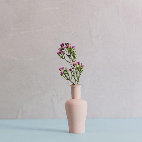 Porcelain Mini Vase Style 3 - Dusty Pink