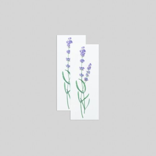 LAVENDER BY VINCENT JEANNEROT FROM TATTLY TATTOOS