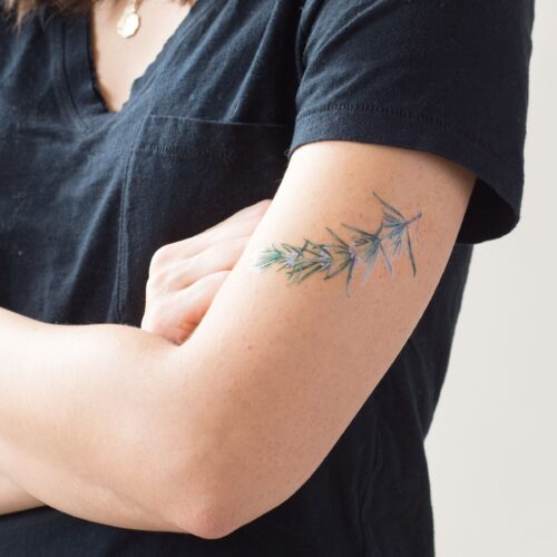 ROSEMARY BY VINCENT JEANNEROT FROM TATTLY TATTOOS