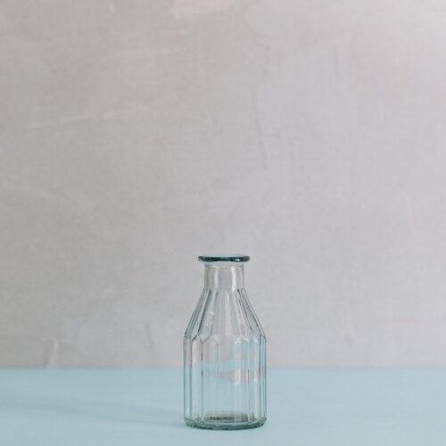 Vintage Style Milk Bottle Small