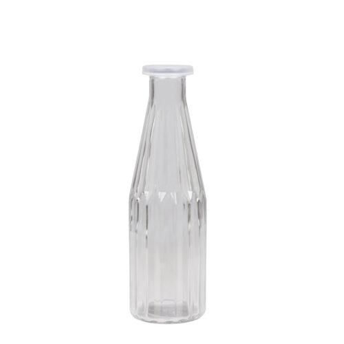 Vintage Style Milk Bottle - Large