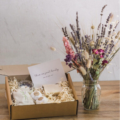 The Lavender Gift Box
