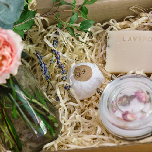 The bath time pamper gift box